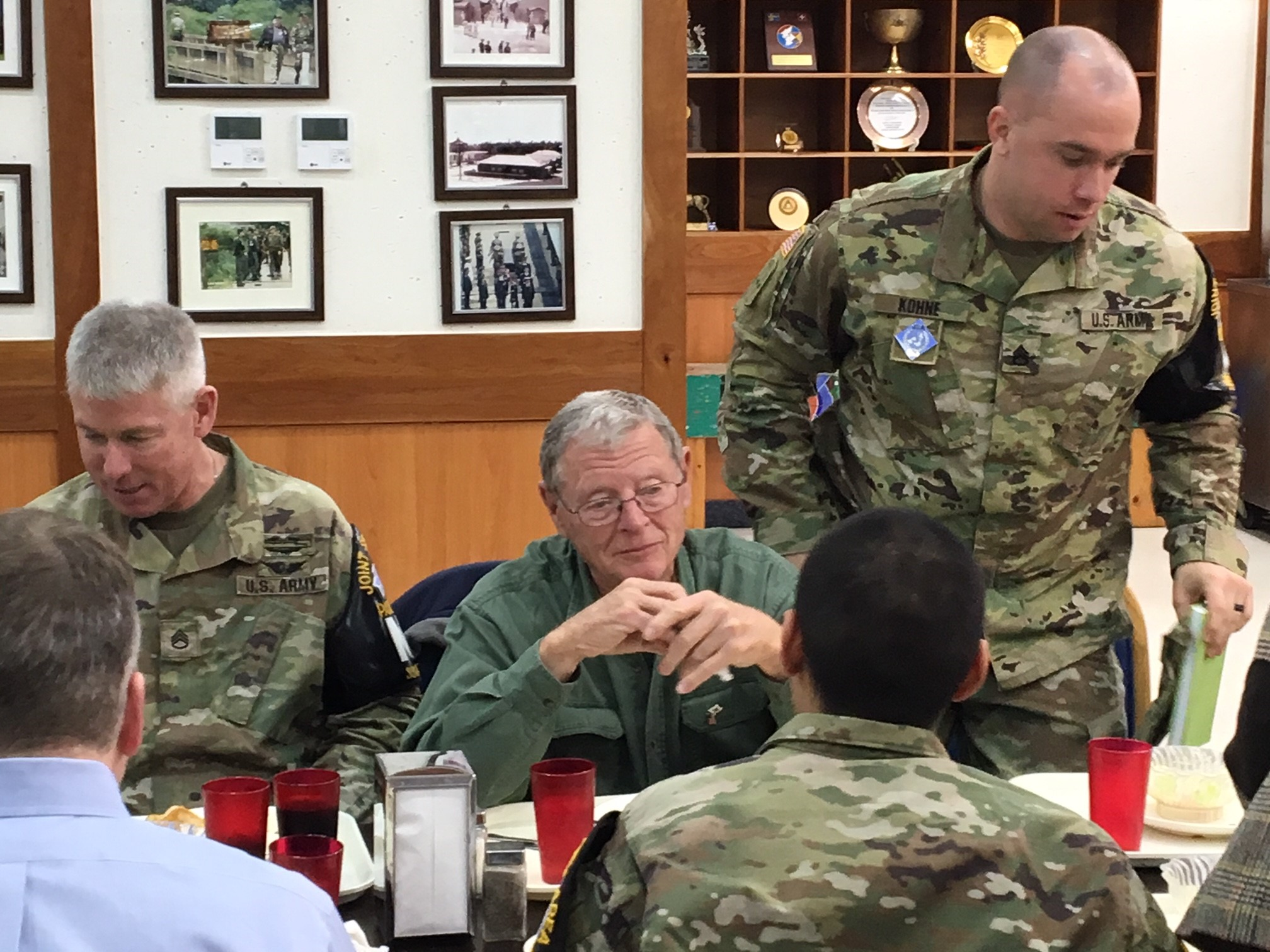 Inhofe Visits Korean Demilitarized Zone1