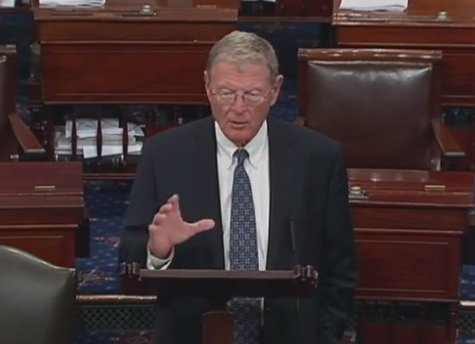 Inhofe Floor Speech- Oklahomans' ObamaCare Stories