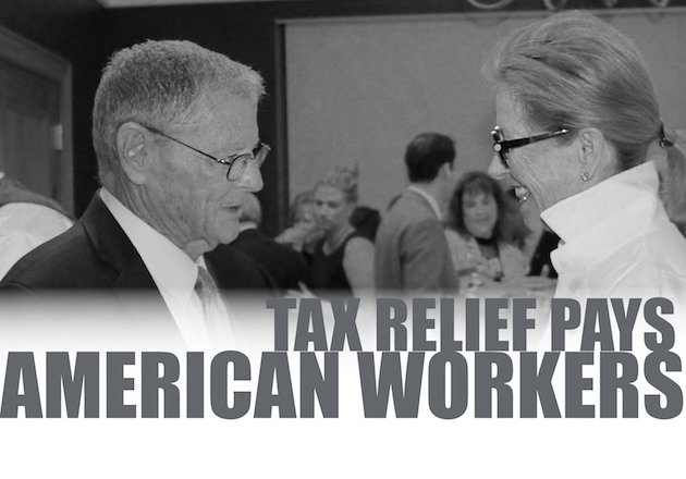 Tax Relief Pays American Workers