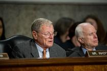 Inhofe voted to confirm retired Gen. James N. Mattis to be Secretary of Defense.