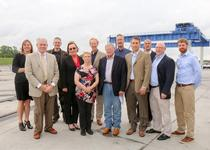 Inhofe toured the Tulsa Port of Catoosa as part of his statewide infrastructure tour. The Port of Catoosa recently had its deck renovated thanks in part to a federal grant. Inhofe highlighted the role that inland waterways play in Oklahoma.
