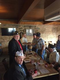 Inhofe attended Coffee and Breakfast with the Blackwell Chamber, Blackwell Industrial Foundation, Tonkawa NOC President and staff, and Kay County Republicans at Cobbs Restaurant.