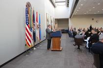 Inhofe spoke to the Lawton chamber during their Washington, D.C. fly-in.