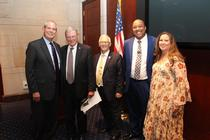 Inhofe spoke to the Enid Chamber during their Washington fly in