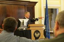 Inhofe Speaks to McAlester Chamber of Commerce