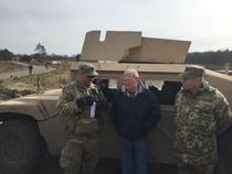 Inhofe Visits Oklahoma Soldiers in Ukraine