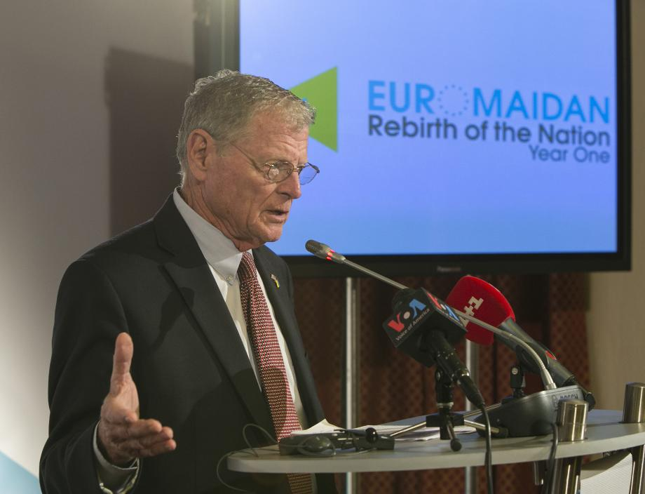 Inhofe Travels to Support Allies in Eastern Europe, Middle East