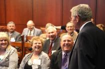Inhofe Speaks with Oklahoma Farm Bureau