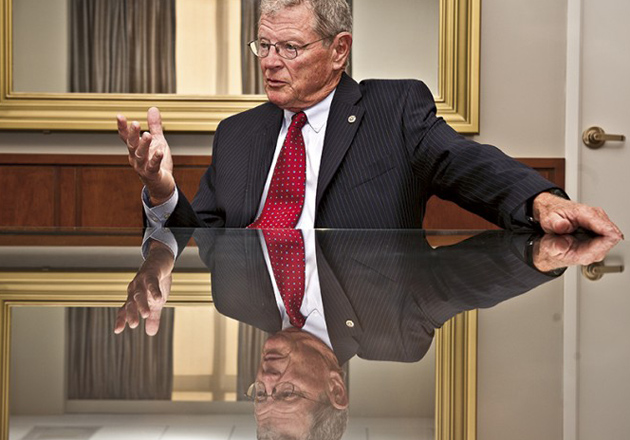 Inhofe Calls for Pause in U.S. Acceptance of Syrian Refugees