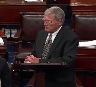 inhofe floor speech Keystone