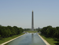 The Mall and Washington Monument.